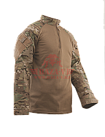 Теплая тактическая рубашка TRU-SPEC TRU® 1/4 Zip Winter Combat Shirt (Multicam) 65/35 PC Ripstop (MultiCam)