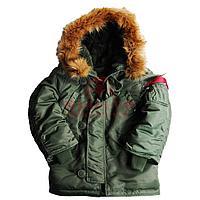 Детская куртка Alpha Industries YOUTH N-3B (Green)