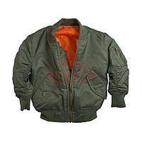 Детская куртка Alpha Industries BOYS MA-1 JACKET (Sage Green)