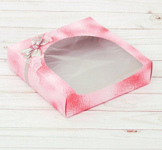 Коробка складная «Для тебя», 20 х 20 х 5 см