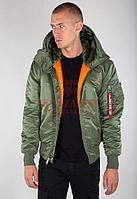 Куртка-парка Alpha Industries Hooded Ma-1 (Sage Green)