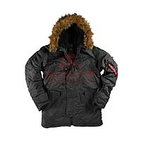 Куртка-парка Alpha Industries N-3B Parka (Black), фото 1