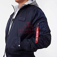 Куртка Alpha Industries MA-1 D-TEC (Blue/Grey)