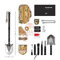 Многофункциональная лопата Brandcamp L5 (Full Edition)