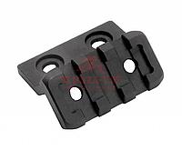 Наклонное крепление для оптики Magpul® M-LOK® Offset Light/Optic Mount, Aluminum MAG604 (Black), фото 1