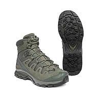 Тактические ботинки, стойкая к проколам подошва Salomon Quest 4D Forces 2 EN (Ranger Green), фото 1