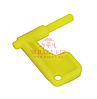 Флажок безопасности пистолетный DLG TACTICAL Pistol Safety Flag (DLG101) (Yellow)