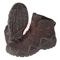 Тактические ботинки LOWA Zephyr GTX MID TF (Dark brown) (7.5, Dark Brown), фото 1