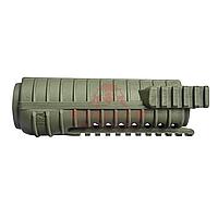 Цевьё трёхрельсовое FAB-Defense FGR-3 для M4/M16/AR15 (Olive Green), фото 1