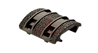 Защитная накладка на цевье Magpul® XTM® Enhanced Rail Panels 1913 Picatinny MAG510 (Olive drab), фото 1