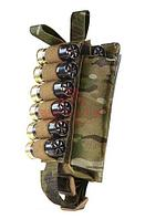 Подсумок под 12 патронов 12-20 кал. WARTECH MP-115 (MultiCam)