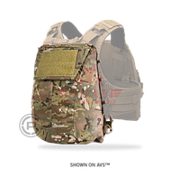 Панель с подсумком для JPC 2.0 Crye Precision Pack Zip-On Panel 2.0 (MultiCam), фото 1