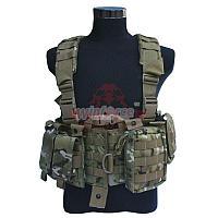 Разгрузочный жилет с подсумками Winforce™ MOLLE DELTA Tactical Vest (MultiCam), фото 1
