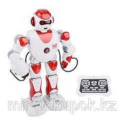 Детская игрушка радиоуправляемый робот Пультовод Зет-Альфа (38см, стрелы, звук, песни, танцы)
