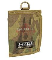 Портмоне J-Tech® Farer-14 Identification Wallet (MultiCam)