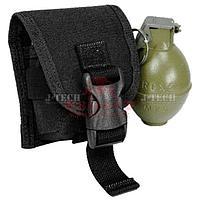 Подсумок для гранаты J-Tech® MOLLE Frag Grenade Pouch (Black)