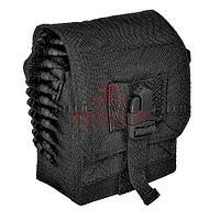 Подсумок для ленты на 100 патронов J-Tech® Striker 100RD Saw Pouch (Black)