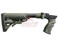 Приклад телескопический, складной FAB-Defense M4 SVD (Green), фото 1