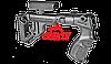 Приклад складной FAB-Defense UAS-870 с регулируемым подщечником на Remington 870