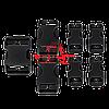 Pемкомплект карабинов (7шт) для снаряжения Condor 221067: Buckle Repair Kit (Black)