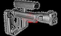 Приклад складной FAB-Defense UAS-VZ P с регулируемым подщечником, фото 1