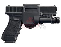 Пистолетная клипса Crye Precision Gunclip для Glock 17/19, правосторонняя (Black), фото 1