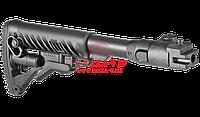 Приклад телескопический, складной для АК-47/74 FAB-Defense M4-AK P (Black)