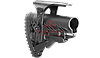 Приклад FAB-Defense GLR-16 CP для AR15/M16/АК/САЙГА с подщечником (без Пикатинни)