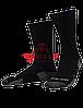 """Тактические носки TRU-SPEC Tactical Performance Socks 6"""" (Black)"""