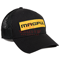 Бейсболка Magpul Wordmark Patch Mid Crown Snapback MAG898 (Black)
