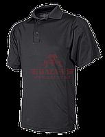 Мужское поло с коротким рукавом из ЭКО материала TRU-SPEC 24-7 Series® Eco Tec (Black)