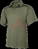 Мужское поло с коротким рукавом из ЭКО материала TRU-SPEC 24-7 Series® Eco Tec (Olive Green), фото 1