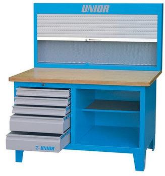 Верстак с инструментальной панелью с жалюзи - 946ACR UNIOR