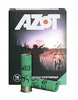 Патрон охотничий AZOT 16/70, 28гр, дробь №3, б/к