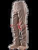 Тактические брюки TRU-SPEC Men's 24-7 SERIES® Eclipse Tactical Pants 100% Nylon (Khaki)