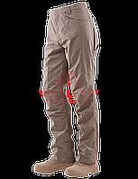 Тактические брюки TRU-SPEC Men's 24-7 SERIES® Eclipse Tactical Pants 65/35 PC Ripstop (Black)