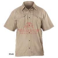 Кэмпинг рубашка с коротким рукавом TRU-SPEC 24-7 Series (Khaki)