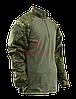 Тактическая рубашка TRU-SPEC TRU® 1/4 Zip Combat Shirt (Multicam) 50/50 Cordura® NyCo Ripstop (MultiCam)