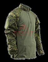Тактическая рубашка TRU-SPEC TRU® 1/4 Zip Combat Shirt (Multicam) 50/50 Cordura® NyCo Ripstop (Multicam Arid)