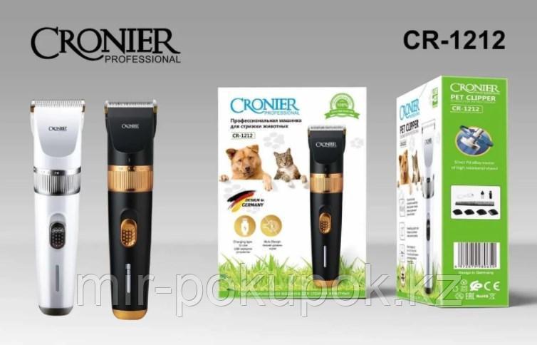 Cronier Professional Машинка для стрижки животных профессиональная CR-1212