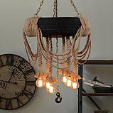 Классические люстры, витражные люстры, люстры в стиле кантри, хрустальные люстры, светильники подвесные, фото 4