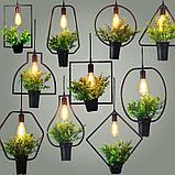 Классические люстры, витражные люстры, люстры в стиле кантри, хрустальные люстры, светильники подвесные, фото 9