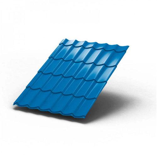 Металлочерепица СуперМонтеррей Standard глянцевая 0.45 мм Синий