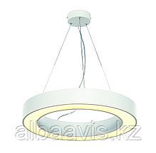 Светильники подвесные в стиле хай-тек 60х40х8см, витражные люстры, люстры в стиле хай-тек, хрустальные люстры