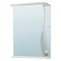 Шкаф зеркальный VAKO Волна 500 (левый) 10233