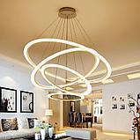Светильники подвесные в стиле хай-тек 60х40х8см, витражные люстры, люстры в стиле хай-тек, хрустальные люстры, фото 6