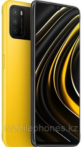 Смартфон Xiaomi POCO M3 64Gb Желтый