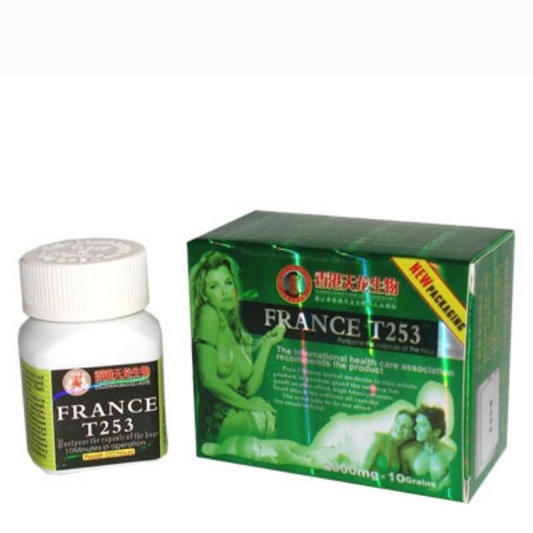France T 253(10 таблеток) для повышения мужской потенции