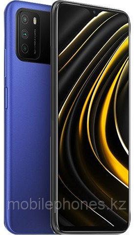Смартфон Xiaomi POCO M3 64Gb Синий
