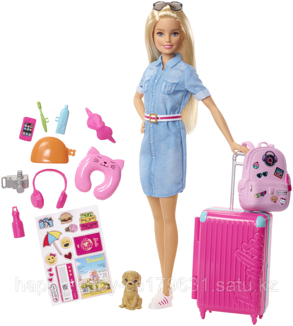 Mattel Barbie оригинал Барби Кукла из серии Путешествия